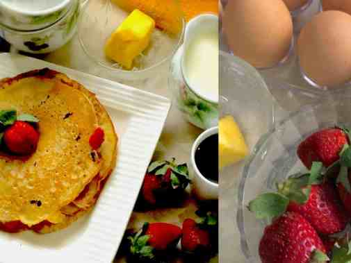 Strawberry Pancakes_PepperOnPizza.com