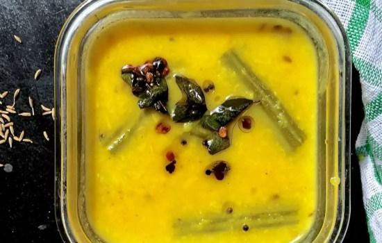 Easy Vegetable Koottu -Veggies & Lentil Stew for the New Mom