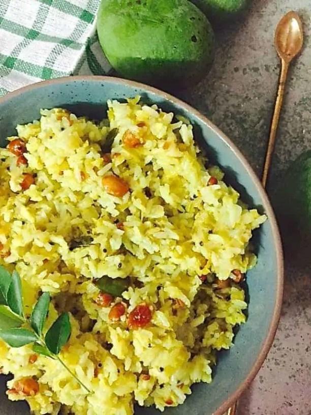 Raw Mango Rice or Mangai sadam