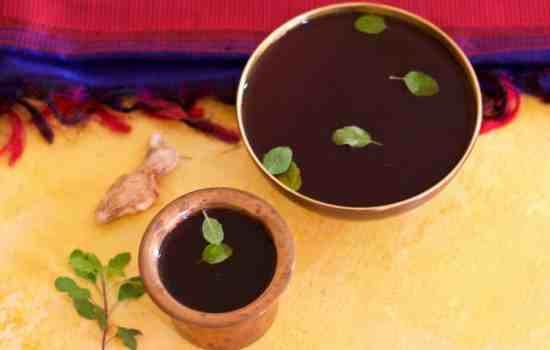 Panakam -Traditional Indian Summer Cooler of Jaggery and Dry Ginger