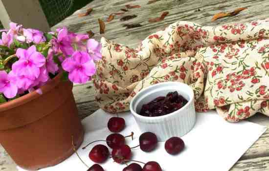Easy Homemade Cherry Compote