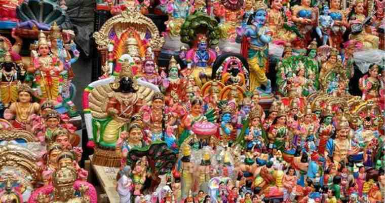 Navaratri Golu and How To Keep It
