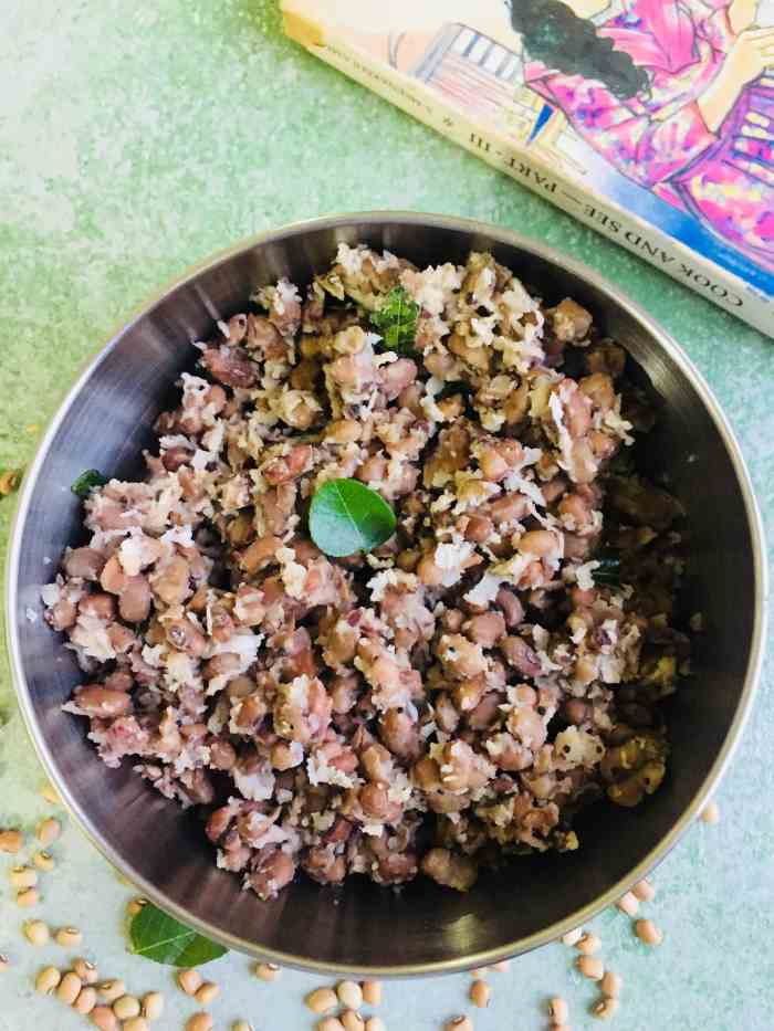 Black eyed Peas Sundal for Navaratri