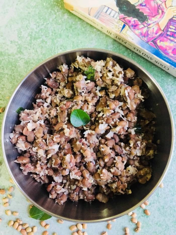 Black eyed Peas Sundal for Navaratri