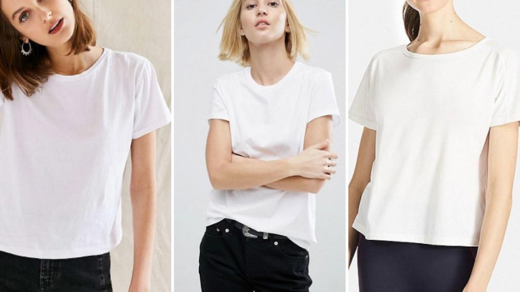 wardrobe essential The white tee