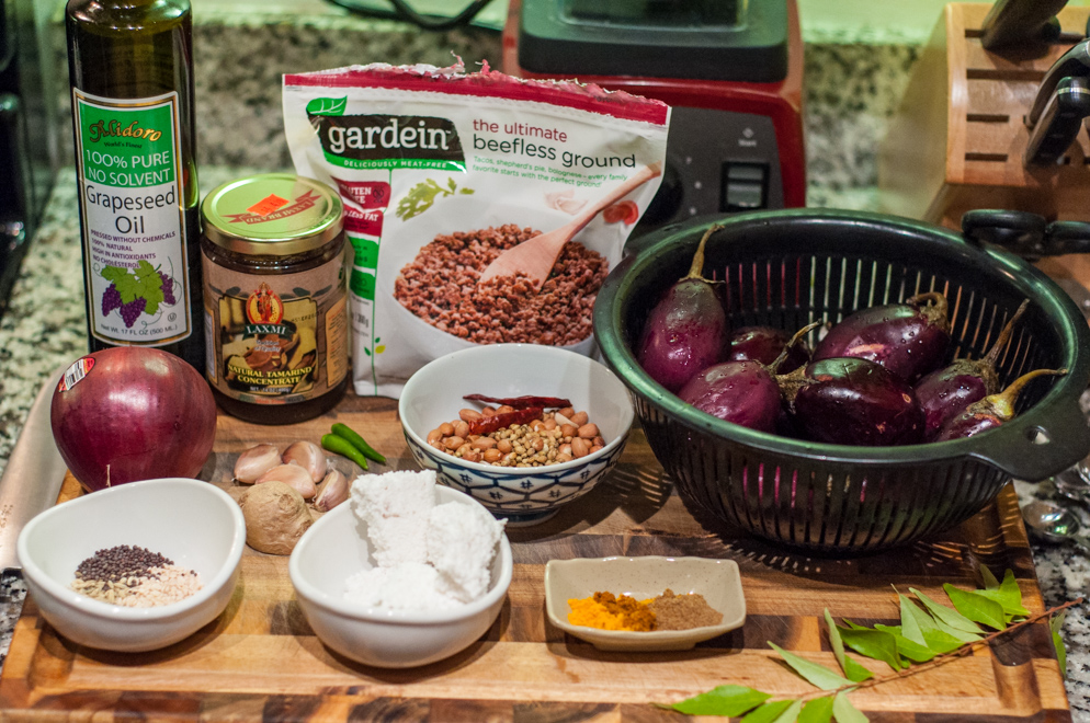 Stuffed Baby Eggplants - Ingredients