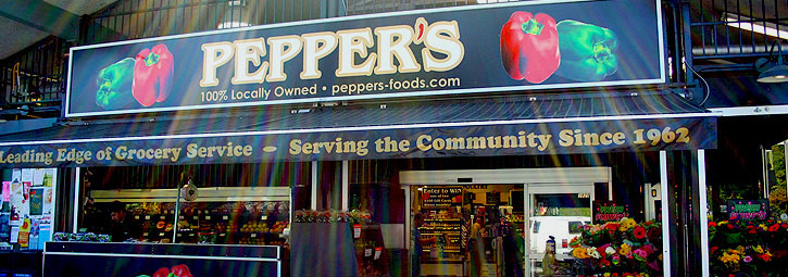 Peppers Foods Local Grocery Store Cadboro Bay Victoria Bc