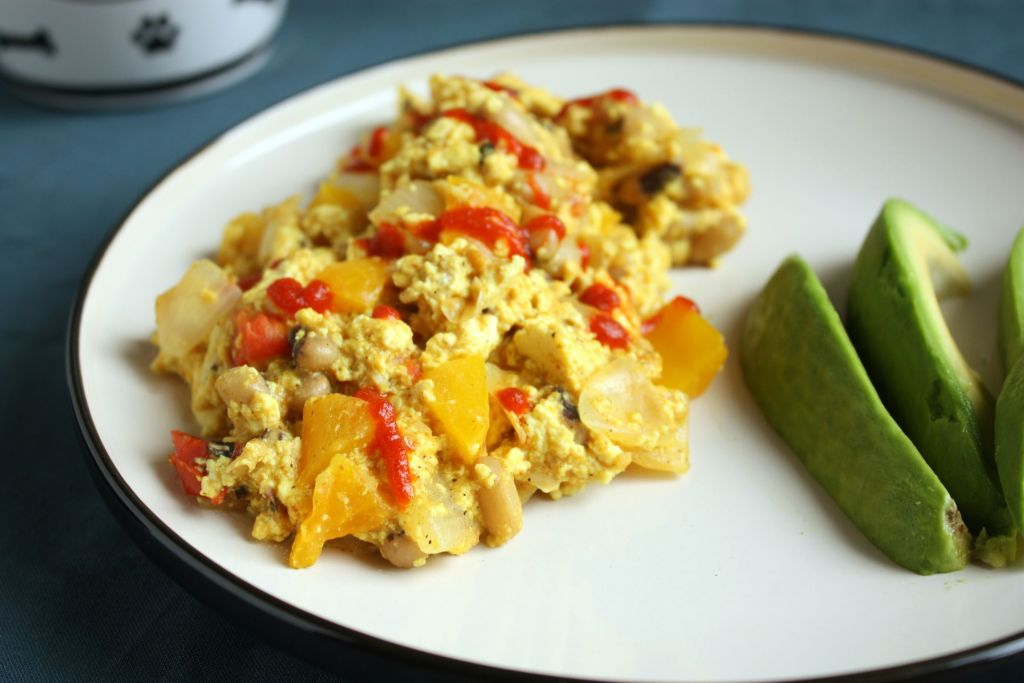 Ultimate Loaded Tofu Scramble
