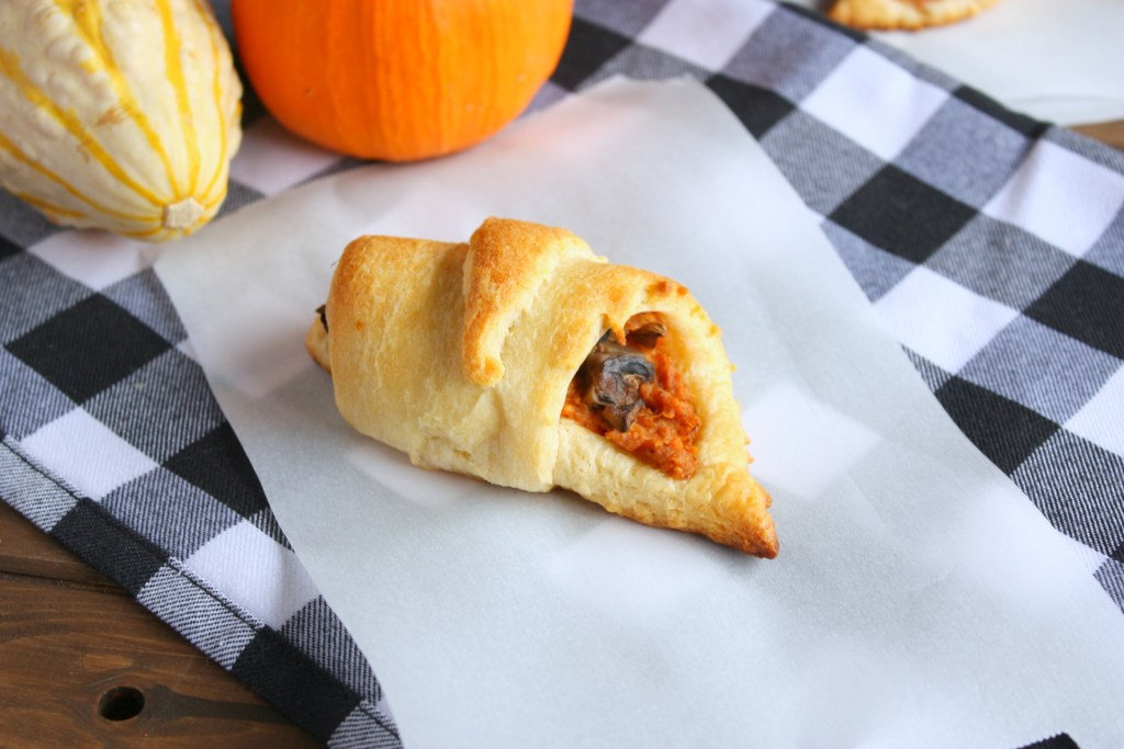 Savory Sweet Potato Fall Crescent Rolls