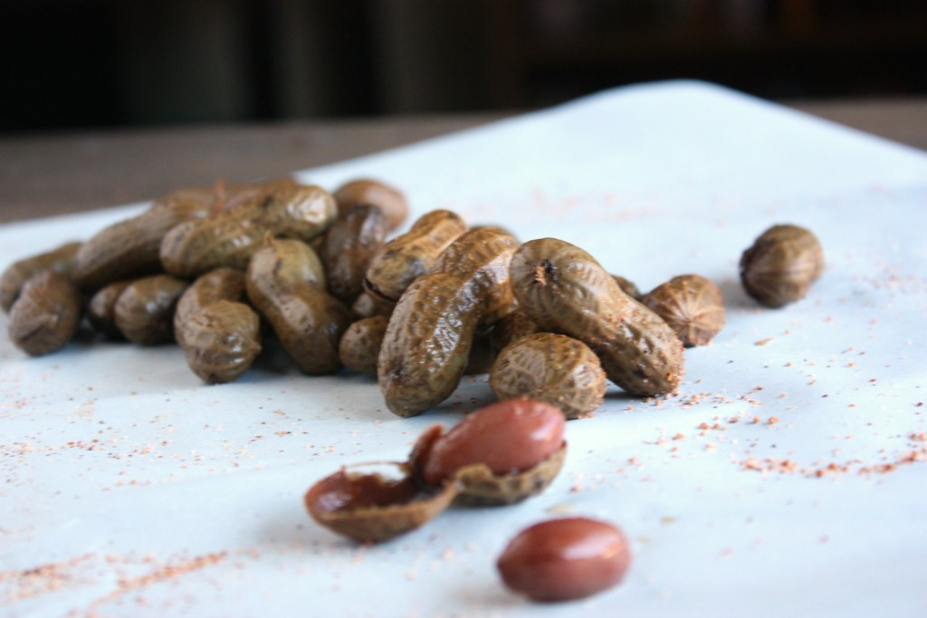 3 Ingredient Cajun Boiled Peanuts