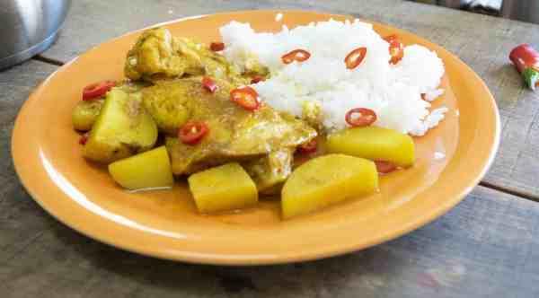 Spicy Jamaican Chicken Curry
