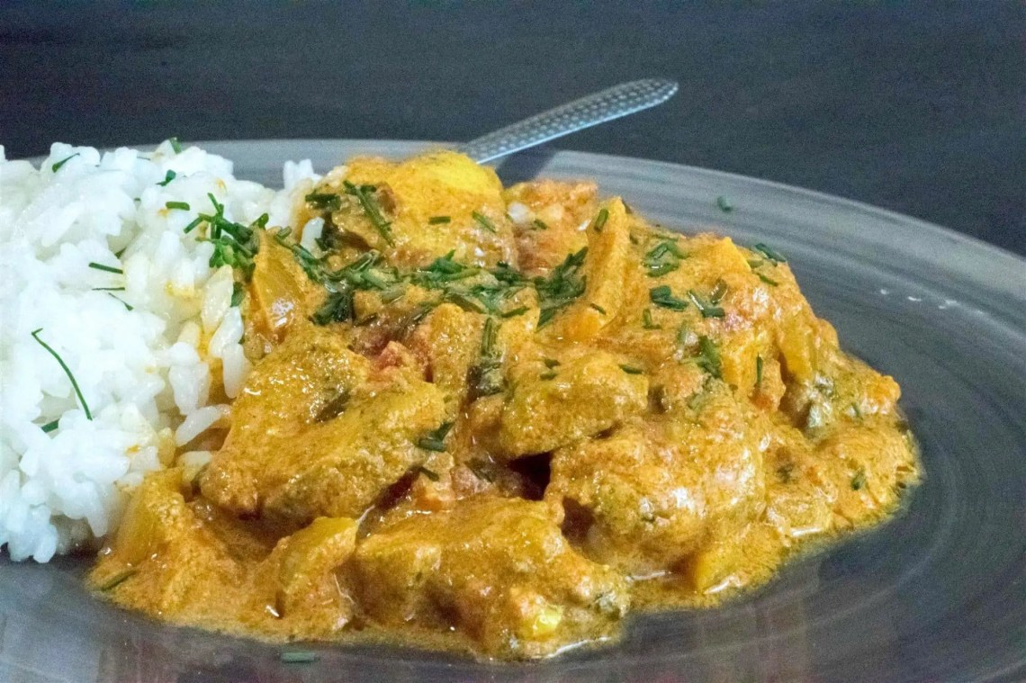 Spicy Chicken Curry Recipe - WITH VIDEO - PepperScale