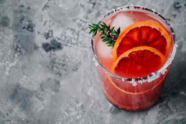 spicy blood orange margarita