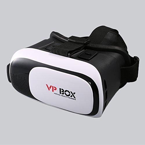 VR Glasses, LESHP 3D VR II Virtual Reality Headset for iPhone 7 6 5, Samsung Galaxy Series and Other 4.0″-6.0″ SmartPhone