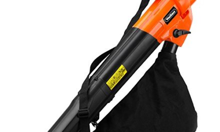 VonHaus 3 in 1 Garden Vacuum, Leaf Blower & Mulcher 2800W – Adjustable speed, 10:1 Shredding Ratio, 40L Collection Bag & 10m Cable