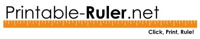 Printable Rulers – always useful!