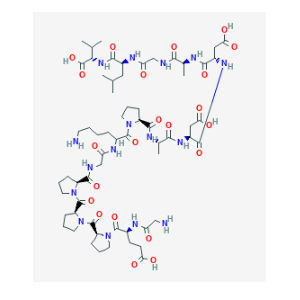 bpc-157 peptide structure