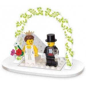 boda de tus sueños pastel de novios lego