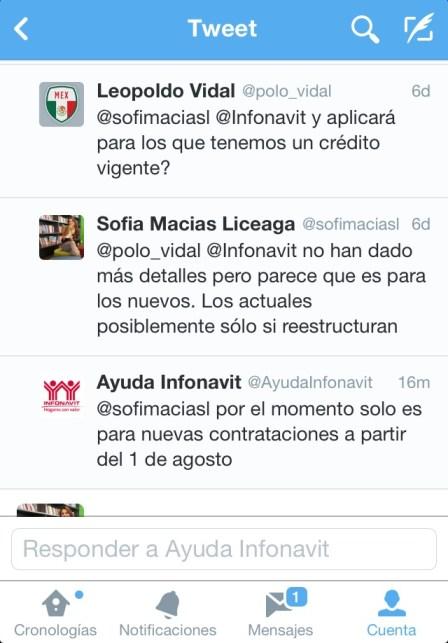 Crédito Infonavit en pesos