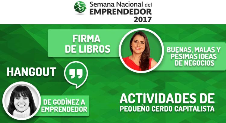 Actividades en la Semana del Emprendedor 2017
