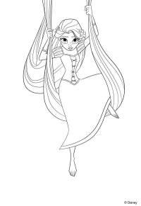 Dibujos para colorear de las princesas Disney | Pequeocio.com