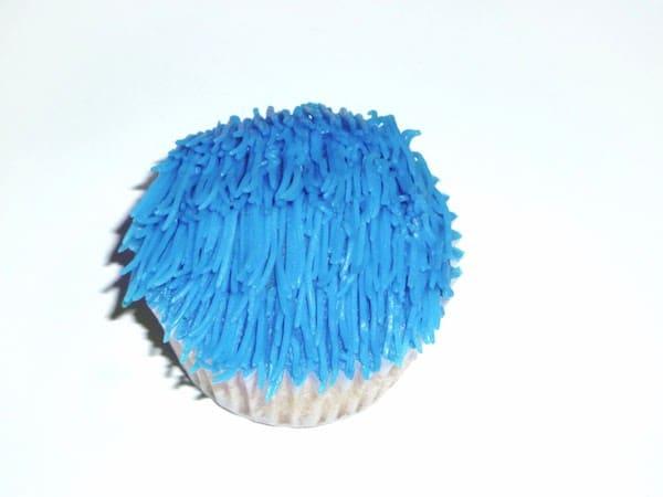 cómo hacer cupcakes del monstruo de las galletas