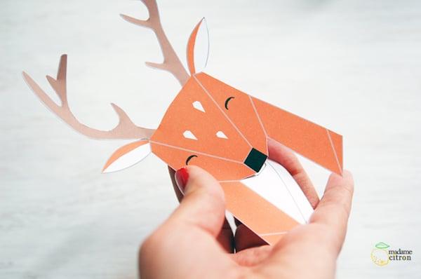 cabezas de animales origami