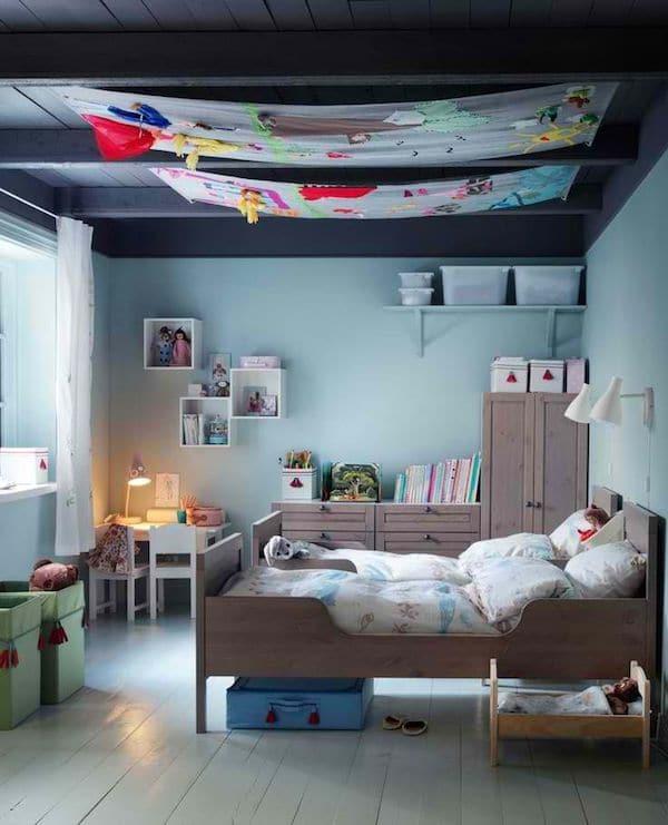 8 habitaciones infantiles en azul  Pequeociocom