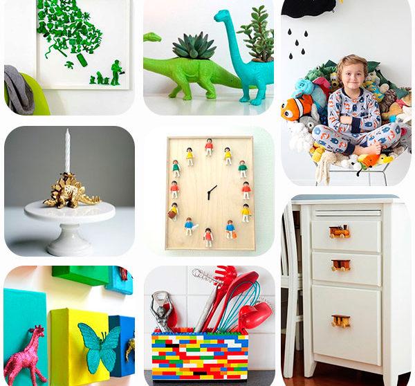 8 ideas para reciclar juguetes viejos  Pequeociocom
