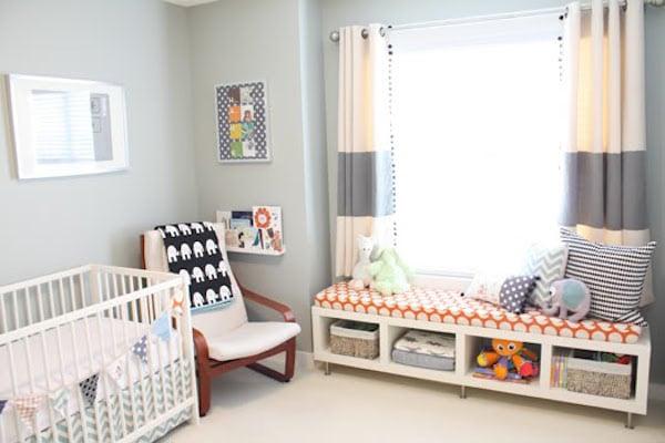 7 habitaciones para bebs sencillas y modernas  Pequeociocom