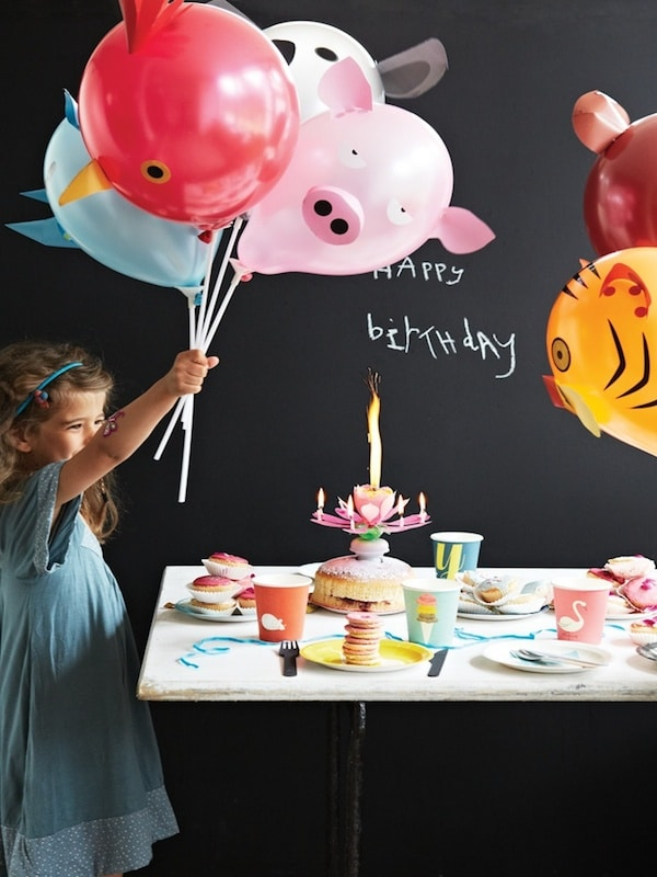 Fiestas infantiles decorar con globos  Pequeociocom
