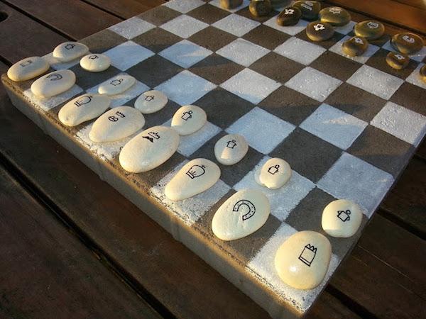 5 juegos infantiles caseros con piedras pintadas