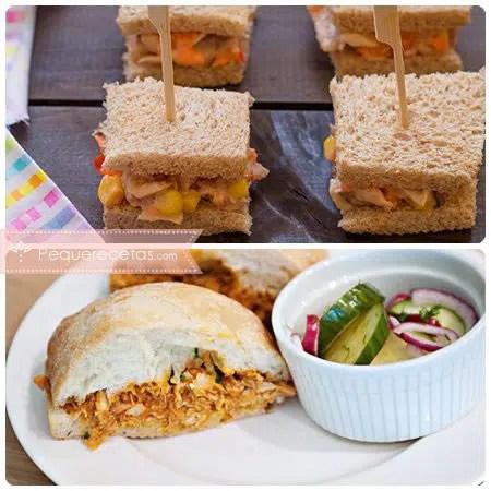 Sndwiches 8 recetas para preparar en casa  PequeRecetas