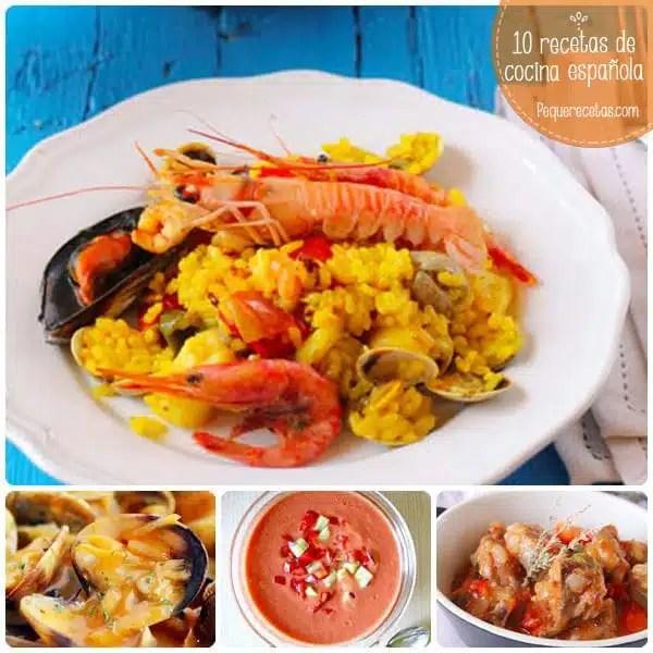 10 recetas de cocina espaola tradicionales  PequeRecetas