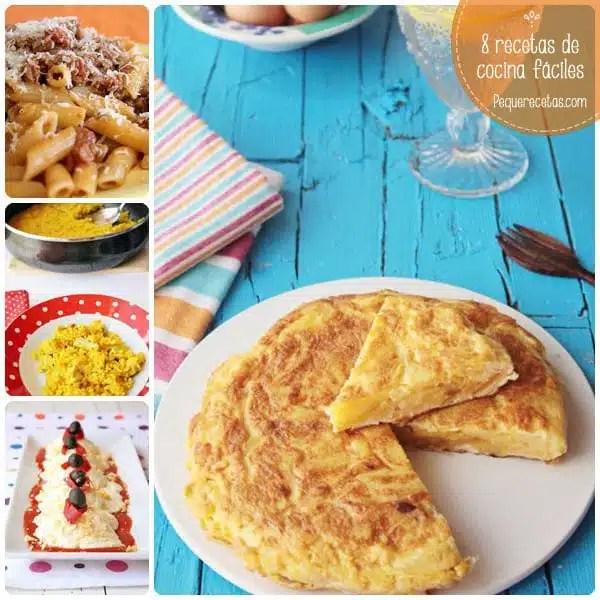 8 recetas de cocina fciles para principiantes  PequeRecetas