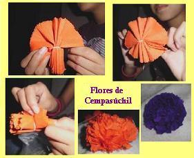 Tutorial: Como hacer tus propias flores de Cempázuchitl