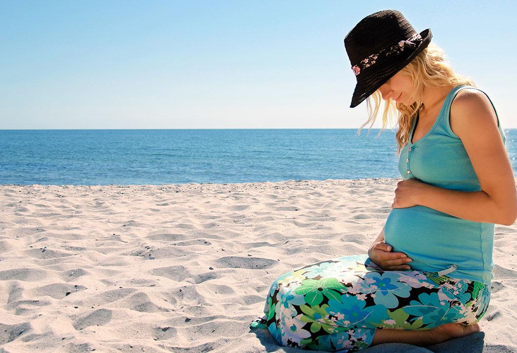 tips para disfrutar de tu embarazo en la playa