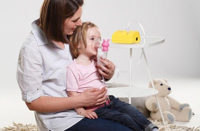 inhalar farmacos bebes niños