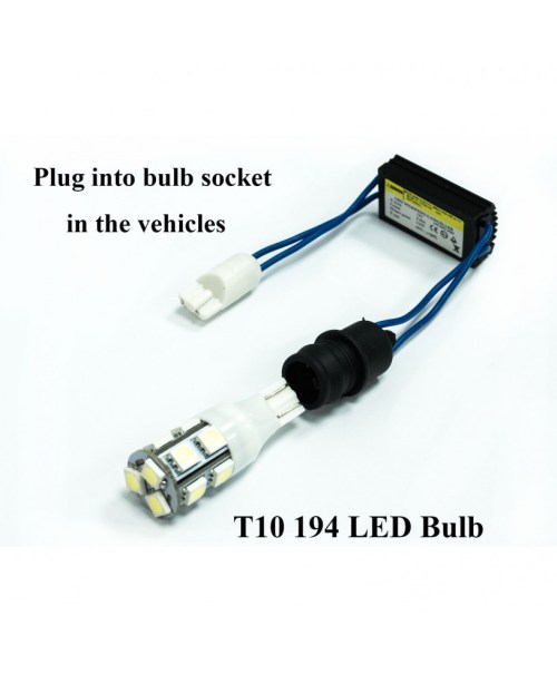 small resolution of pa 2x t10 t15 168 921 led backup reverse lights no error wiring adapter load resistor