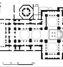 theologian plan of st john basilica  [ 1265 x 828 Pixel ]