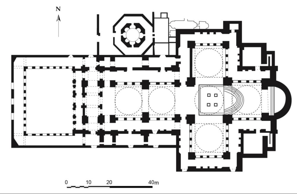 medium resolution of theologian plan of st john basilica