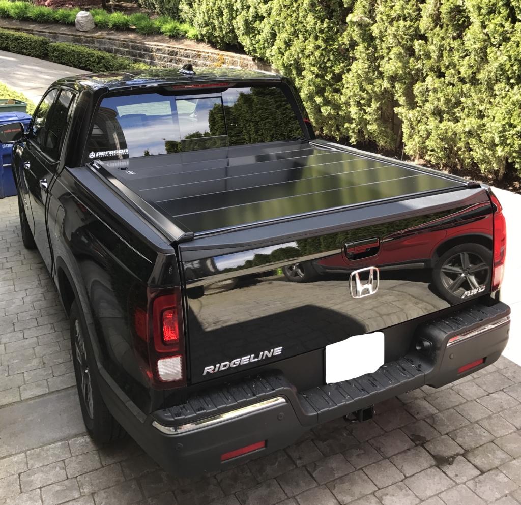 Honda Ridgeline Retractable Truck Bed Covers By Peragon