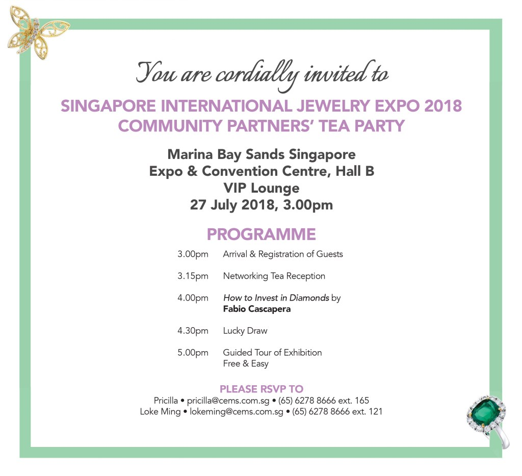 An Invitation And Exclusive Offer Just For Tpas Members At Sije 2018