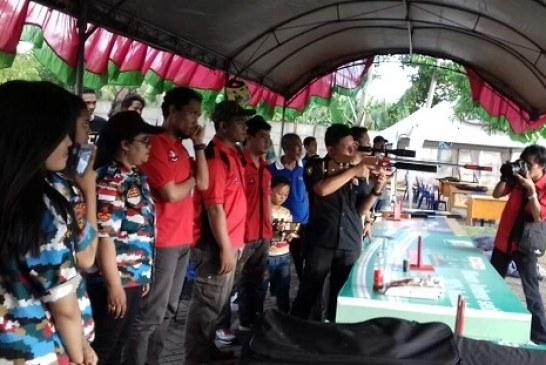 Kejuaraan Menembak Metal Silhouette Anging Mamiri Open 2016 Makassar Resmi Dibuka