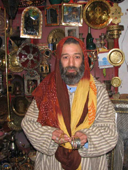 Morocco shopkeeper