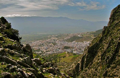 Morocco mountain view