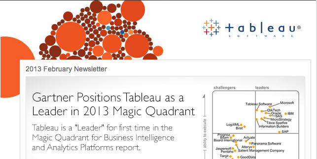 The new face of Tableau