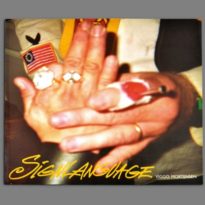 Viggo Mortensen: Signlanguage bookcover