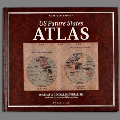Bookcover of US Future States Atlas by Dan Mills