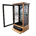 Perch Factory | Wooden Bird Cages, Designer Wood Bird Cages